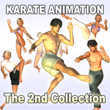 The 2nd Collection of Karate Animations