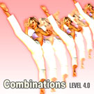 Combination of Left Triple High Kick