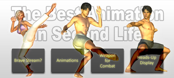 The Best Animation in Second Life